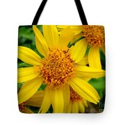 Yellow Flash Tote Bag