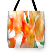 Yellow Flower Bouquet Tote Bag