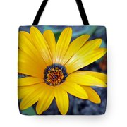 Yellow Flower Helianthus Tote Bag