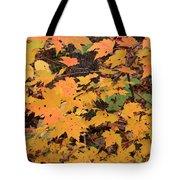 Yellow Foliage Tote Bag