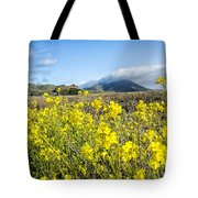 Yellow Foreground Tote Bag