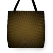 Yellow Fractal Background Tote Bag