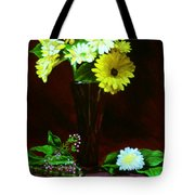 Yellow Gerbera Tote Bag