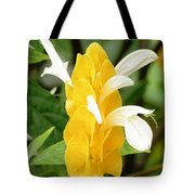 Yellow Ginger Blossom Tote Bag