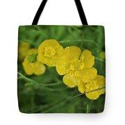 Yellow Glow Tote Bag