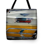 Yellow Harley Saddlebags Tote Bag