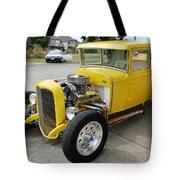 Yellow Hot Rod Tote Bag