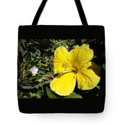 Yellow Hibiscus For Mom Tote Bag