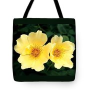 Yellow Hybiscus Tote Bag