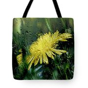 Yellow In The Rain Tote Bag