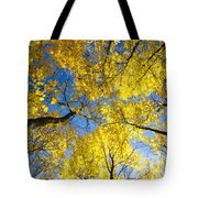 Yellow In The Sky Tote Bag