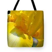 Yellow Iris Tote Bag