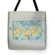 Yellow Iris' Tote Bag