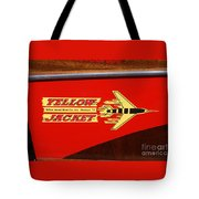 Yellow Jacket Outboard Boat Tote Bag