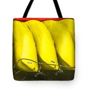 Yellow Kayaks Tote Bag