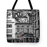 Yellow Lisbon Trolley Tote Bag