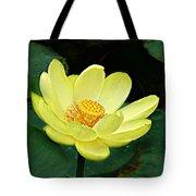 Yellow Lotus Tote Bag