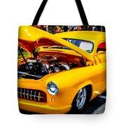 Yellow Machine Tote Bag