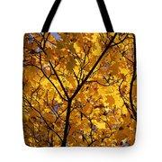 Yellow Maple 3 Tote Bag