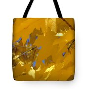 Yellow Maple Leaves Tote Bag