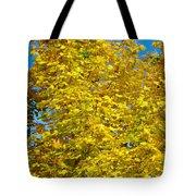 Yellow Maple Tote Bag