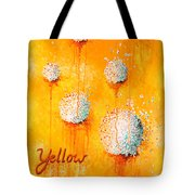 Yellow Tote Bag by Michelle Boudreaux