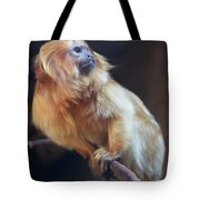 Yellow Monkey Tote Bag