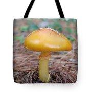 Yellow Mushroom Tote Bag