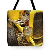 Street Car - Yellow Open Engine Tote Bag