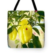 Yellow Pepper Tote Bag