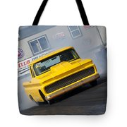 Yellow Pick Up Truck Tote Bag