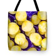 Yellow Plums Tote Bag