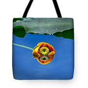 Yellow Pond Lily Tote Bag