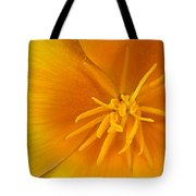 Yellow Poppy Tote Bag