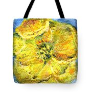 Yellow Poppy Tote Bag