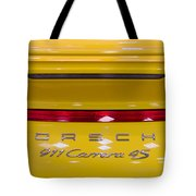 yellow Porsche Tote Bag
