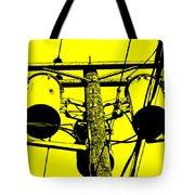 Yellow Power Tote Bag