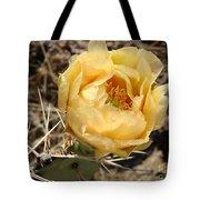Yellow Prickly Pear Tote Bag