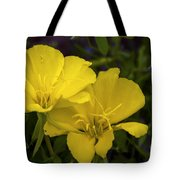 Yellow Primrose Tote Bag