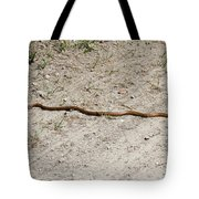 Yellow Rat Snake Tote Bag