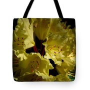 Yellow Rhododendron Tote Bag
