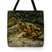 Yellow Rock Jumper Tote Bag