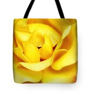 Yellow Sapphire Rose Palm Springs Tote Bag