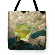 Yellow Satin Tote Bag