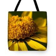 Yellow Saucer Tote Bag