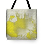 Yellow Shell Tote Bag