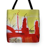 Yellow Sky Industry Tote Bag