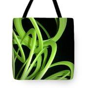 Yellow Slinky Tote Bag