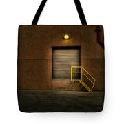 Yellow Stairs Tote Bag