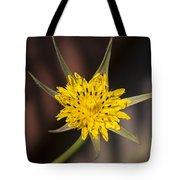 Yellow Star Flower Tote Bag